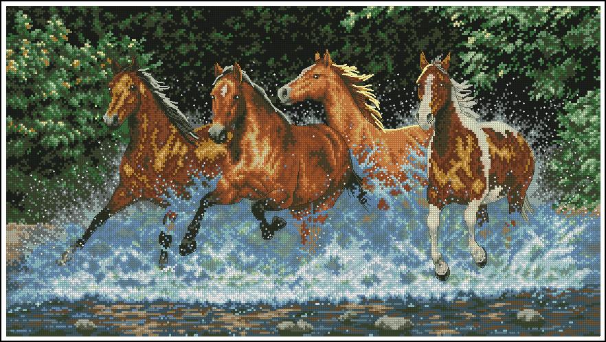 Дименшенс лошади схема
